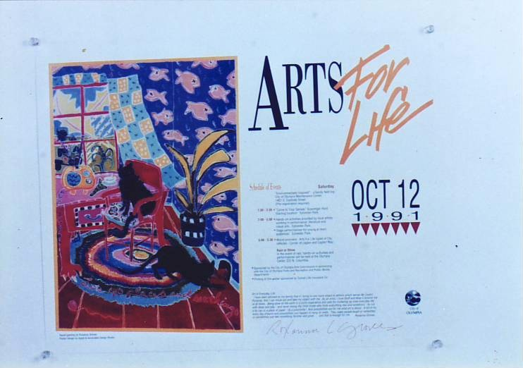 Arts for life poster