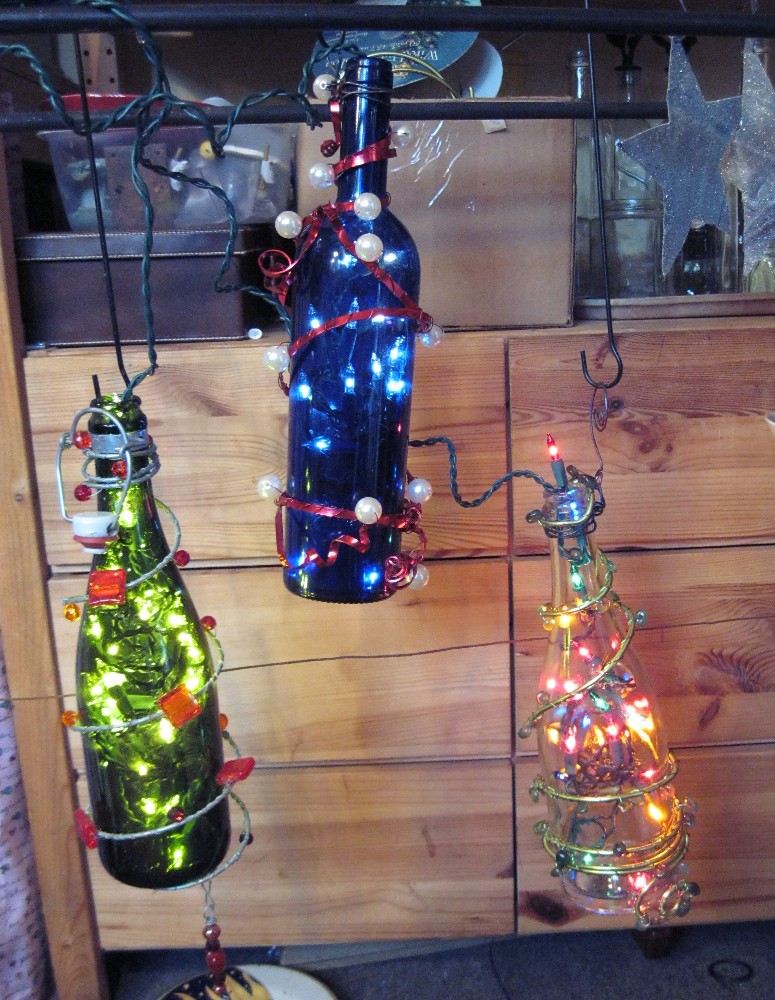 Tree wine lights